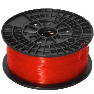YoYoInk -Red 1.75mm ABS Filament for 3D Printers, FlashForge, MakerBot Replicator, Cubify Cube, Afinia, Airwolf (1kg/2.2lb)