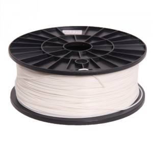 Signstek 1.75mm ABS Filament 1kg/2.2lb White for 3D Printers Reprap, MakerBot Replicator 2, Afinia, Solidoodle...
