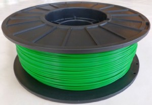 Light Green 1.75mm PLA Filament 1kg. Made in USA. For 3D Printers, Makergear Makerbot RepRap Etc.