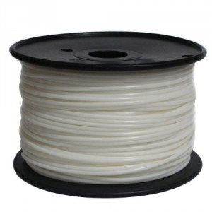 Reprapper PLA 3.0mm 3D Printer Filament 2.6lbs Spool for Reprap 3D Printer - White