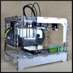3D Vision Printer, Dual Extruder With 2 FREE PLA Spools, PLA & ABS Filament Compatible, Assembled Desktop Printing