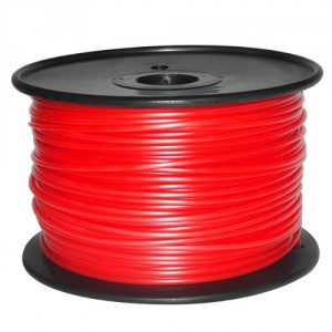 Reprapper 3D Printer Filament PLA 3.0mm Red