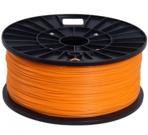 Signstek 1.75mm ABS Filament 1kg/2.2lb Fluorescence Orange for 3D Printers Reprap, MakerBot Replicator 2, Afinia, Solidoodle...