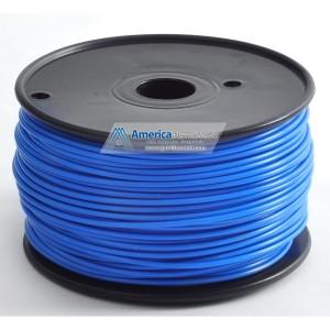 Jet - PLA (1.75m, Blue color, 1.0kg =2.204 lbs) Filament on Spool for 3D Printer MakerBot, RepRap, MakerGear, Ultimaker and UP!