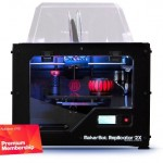 MakerBot Replicator 2X Experimental 3D Printer + 123D Premium Bundle with 2-yr 123D Premium Membership