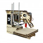 "Printrbot Assembled Simple 3D Printer, PLA Filament, 1.75mm Ubis Hot End, 4"" x 4"" x 4"" Build Volume"