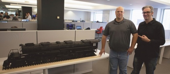 3D replica of 4-8-8-4 Big Boy Locomotive recreated in 1000 hours