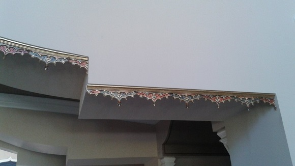 Amaizing 3D Printed Custom Arabian Inspired Ceiling