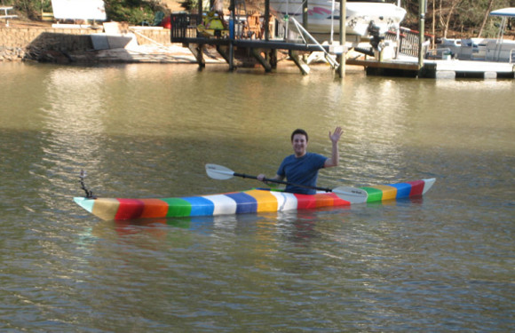 First 3D printed full size kayak. Please welcome!
