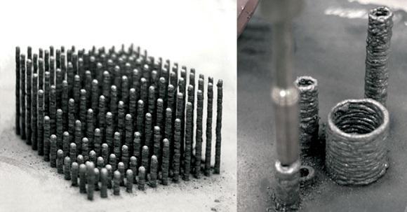 'Anti-gravity' 3D printer creates metal constructions in mid-air