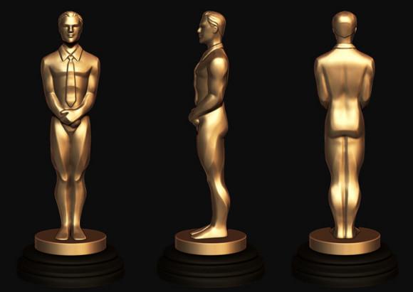 3D printed Oscar for Leonardo DiCaprio