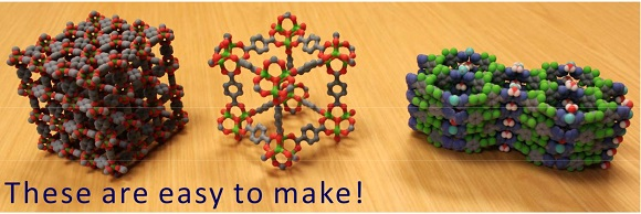 How to 3D print a crystal structure model