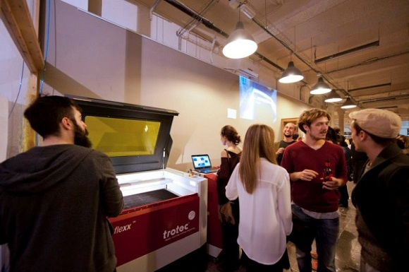 3D Printing Café Was Opened In Barcelona