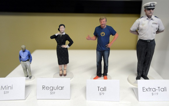 New Bay Area startup 3D prints memories in lifelike figures