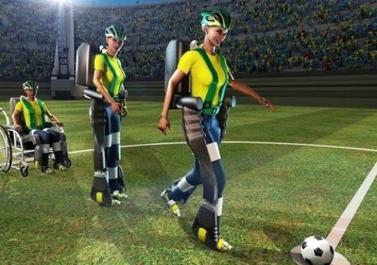 Thanks to 3D printing & bionic exoskeleton a paralyzed teen will deliver first kick at World Cup 2014