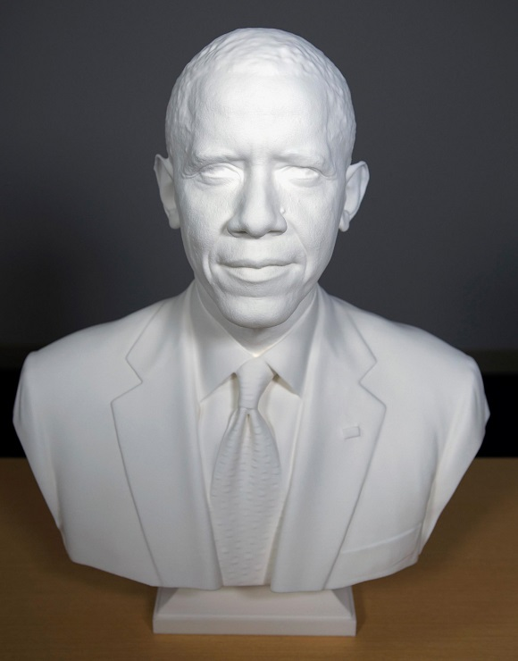 Obama Is to be the First 3D printed President