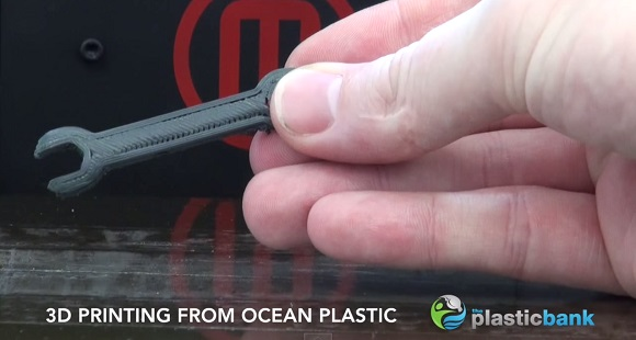 The Plastic Waste From Oceans Can Fuel 3D Printers