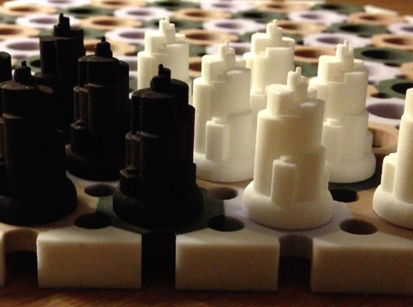 3D printed board game Cyvasse from Game of Thrones
