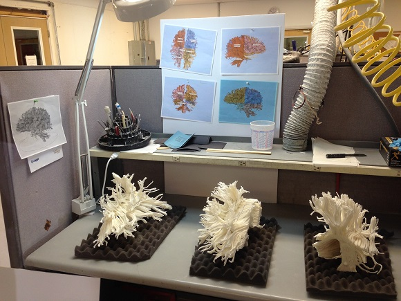 3D Printing Technologies Help to Uncover the Mystery of the Human Brain