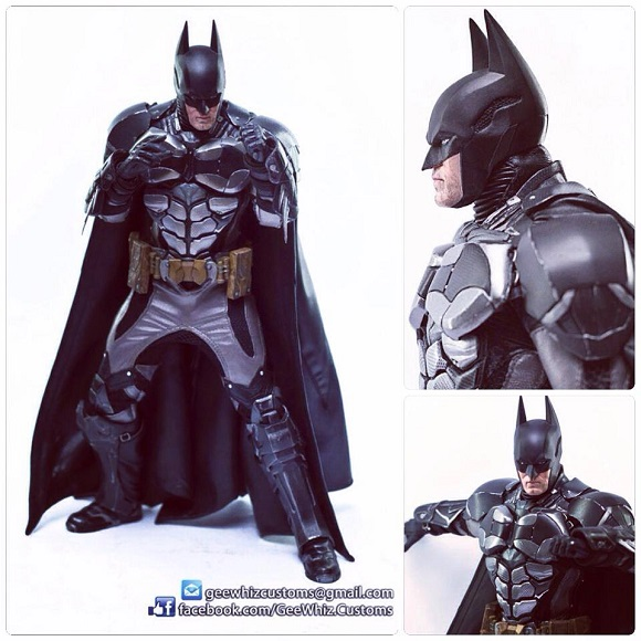 GeeWhiz Uses 3D Printers to Develop True-to-life Model of The Dark Knight