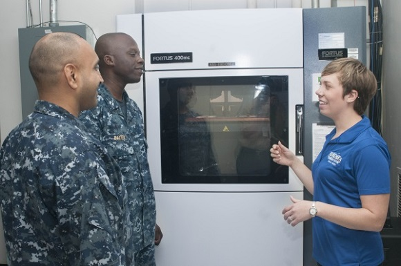 US Navy plans to take 3D printer to sea