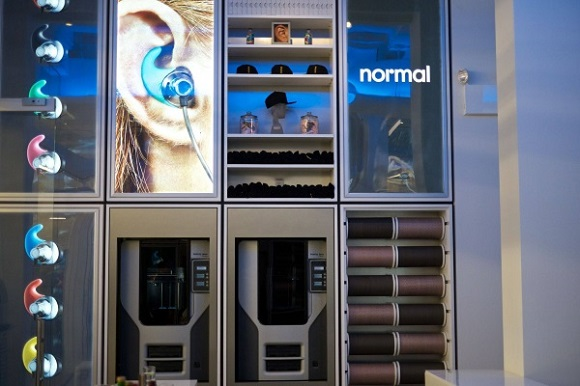 First 3D printed earphones shop opens in New York