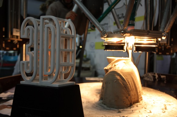 WASP team creates 3D printed homes using clay and soil