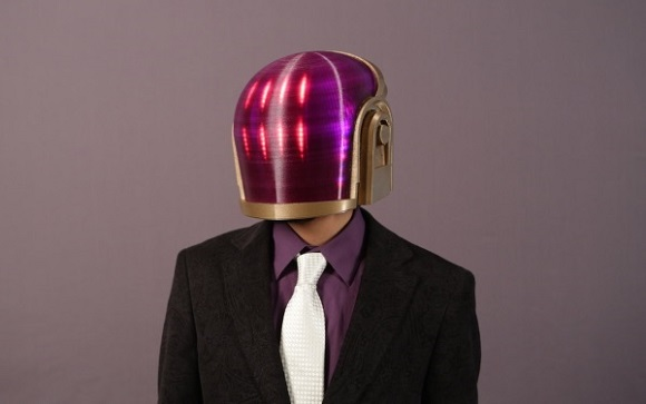 Want to have 3D printed Halloween costume? Print your own Daft Punk Helmet