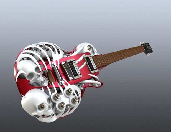 Order Your Own 3D Printed Guitar At Customuse