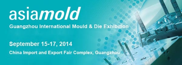 Asiamold 2014 opens on 15 September with strong support from prominent industry brands