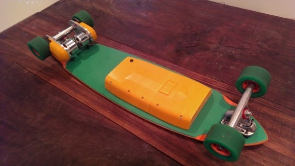 3D printed electric skateboard funding campaign launches on Kickstarter