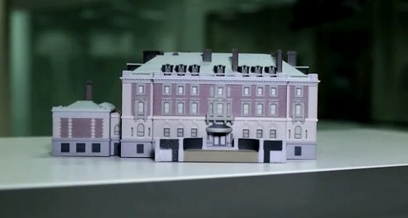 3D model of Andrew Carnegie's Mansion available for free download and 3D printing
