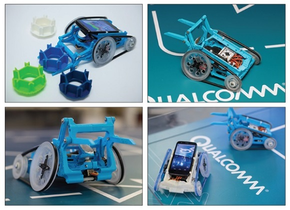 Qualcomm turns smartphones into robots using 3D Printing