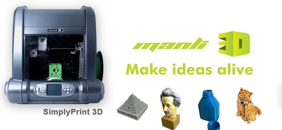 SimplyPrint - 3D Printer from Hong Kong-based Company Manli