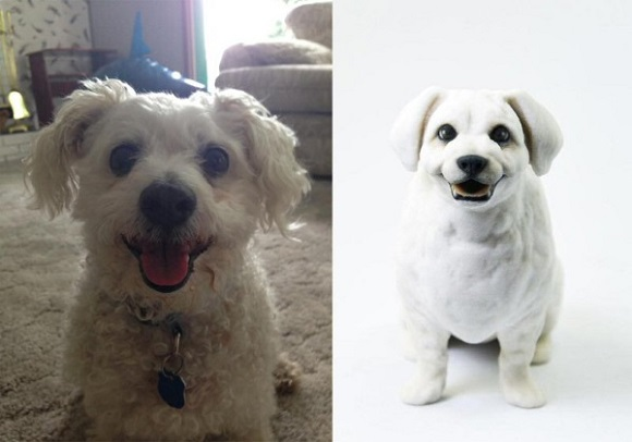 Thanks to PetPrints 3D animal lovers can get 3D printed models of their pets