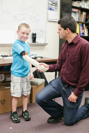 UCF creates Life-Changing Prosthetic Arm for Six-Year Old