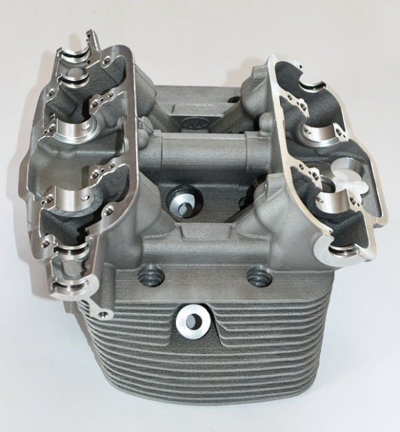 Cylinder heads reconstructed with 3D printing for Porsches