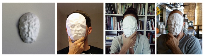 3D printed DATA-MASKS masks defy surveillance technology