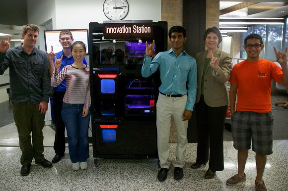 The University of Texas Campus has got a 3D printing vending machine