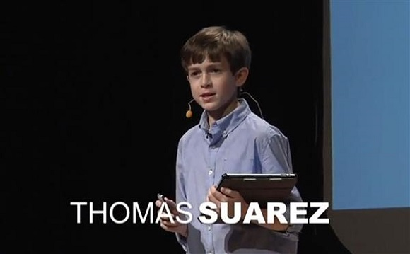 15-year old Thomas Saurez set to release 10x faster modular 3D printer this year