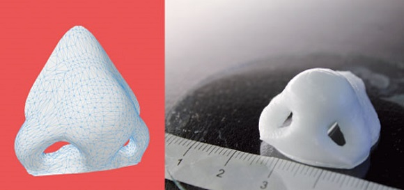 Get a nose cartilage 3D printed in just 16 minutes