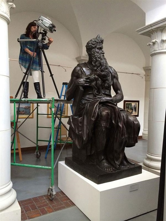 Thanks to 3D printing and scanning Sculptures by Michelangelo can be seen all around the world
