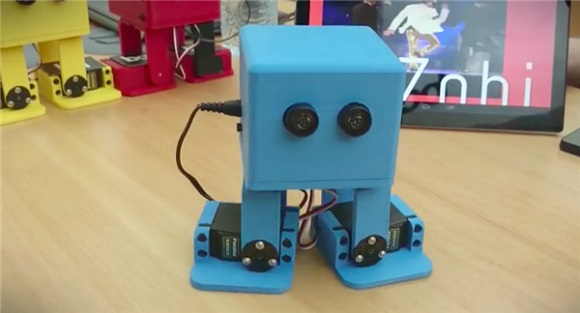 New robot Kit to create a 3D printed robot that can dance like Michael Jackson