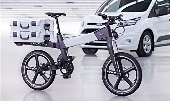 Ford uses 3D printing technologies to develop smart bikes