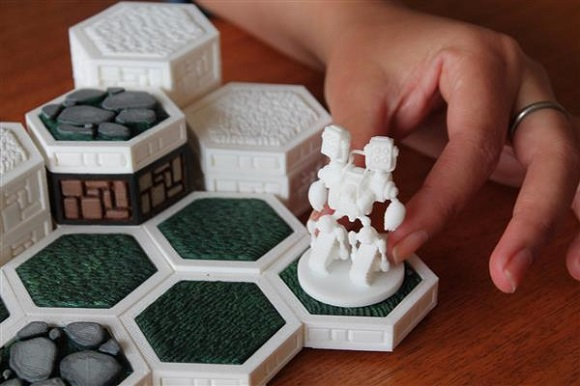 Support Open Board Game - framework for creating 3D printable board games