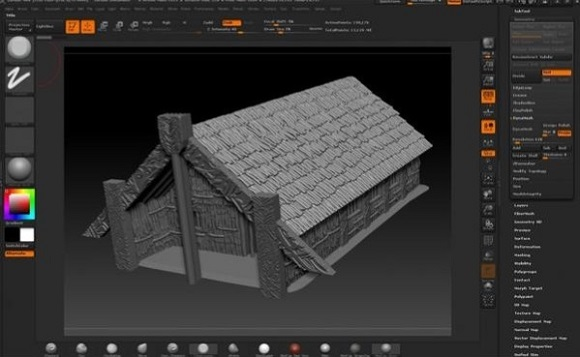 Download and 3D Print Maori Pa wargaming scenery