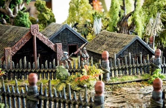 Download and 3D Print Maori Pa wargaming scenery