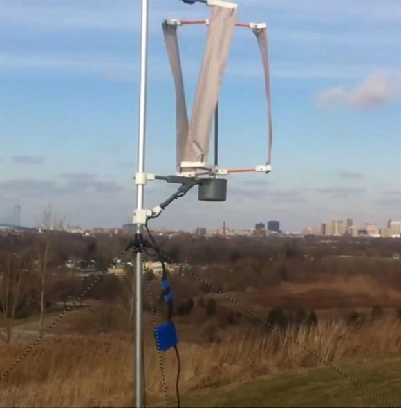 3D printed wind turbine developed by a student will bring electricity to remote regions
