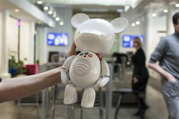 Meet SpotiBear - A 3D printed toy-bear that can play music from Spotify