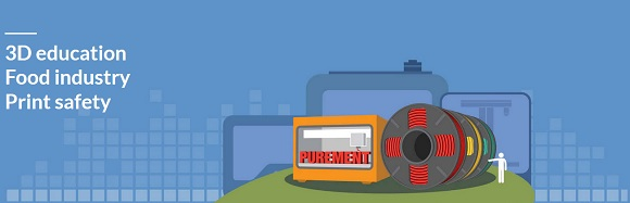 Purement - the first of its kind antimicrobial 3D printing PLA filament